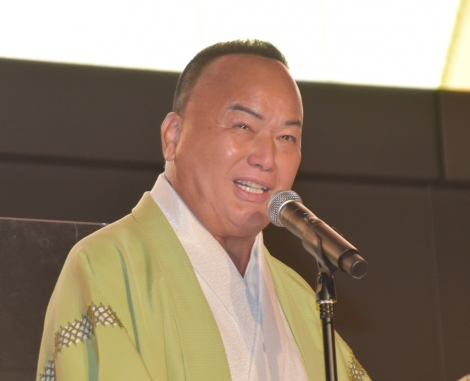 『TOKYO SAKE FESTIVAL2020』オープニングセレモニーに出席した細川たかし (C)ORICON NewS inc.