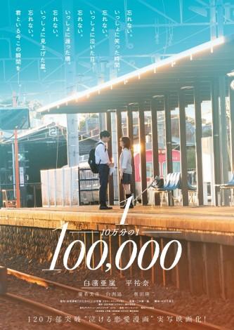 映画『10万分の1』キーアート (C)宮坂香帆・小学館/2020映画「10万分の1」製作委員会