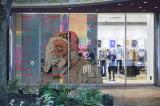米津玄師がユニクロUTと初コラボレーション=ユニクロ店舗外装ラッピング博多
