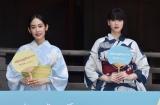 映画『Daughters(ドーターズ)』のヒット祈願をした(左から)阿部純子、三吉彩花 (C)ORICON NewS inc.