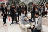 石田ゆり子、恐怖に見舞われる主婦を表現 映画『サイレント・トーキョー』現場レポート到着