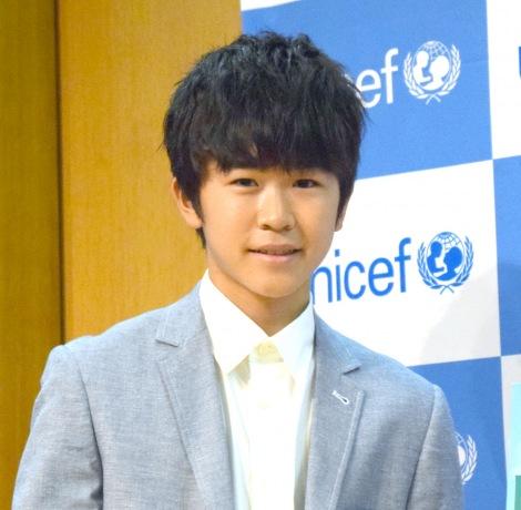 映画『風をつかまえた少年』のトークショーに出席した鈴木福 (C)ORICON NewS inc.