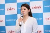オンライン記者会見を開き引退を報告した高橋礼華選手