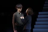 (左から)松坂桃李、高岡早紀=松坂桃李=舞台『娼年』ゲネプロの模様
