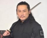 映画『狂武蔵』の公開初日記者会見に出席した坂口拓 (C)ORICON NewS inc.