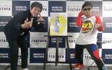 (左から)しずる・村上純、バイク川崎バイク