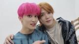 兼近と同じ鮮やかなピンク髪のマーク