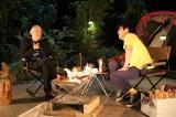 松本隆が『石橋、薪を焚べる』に2週にわたって出演(C)フジテレビ