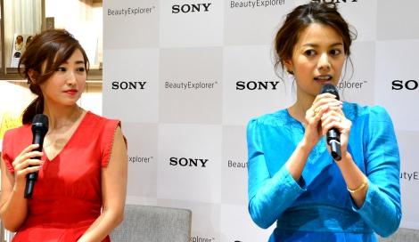 サムネイル (左から)美容研究家の神崎恵さんとモデルの中林美和 (C)oricon ME inc.