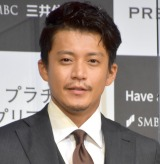 『三井住友カード 新CM発表会』に出席した小栗旬 (C)ORICON NewS inc.