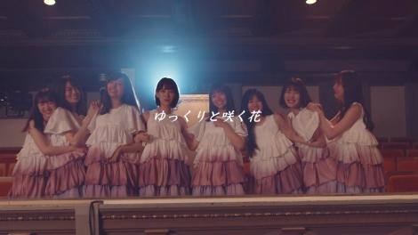 乃木坂46の2期生ライブで初披露された「ゆっくりと咲く花」をMV化