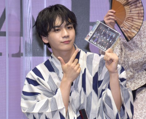 JO1 2ndシングル「STARGAZER」リリース記念生配信に登場したJO1・豆原一成 (C)ORICON NewS inc.