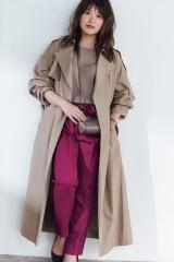 尾崎里紗アナ、念願の初モデル