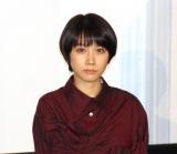 映画『青くて痛くて脆い』初日舞台あいさつに出席した松本穂香 (C)ORICON NewS inc.
