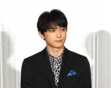 映画『青くて痛くて脆い』初日舞台あいさつに出席した吉沢亮 (C)ORICON NewS inc.