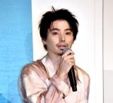 映画『ソワレ』公開記念舞台あいさつに出席した村上虹郎 (C)ORICON NewS inc.