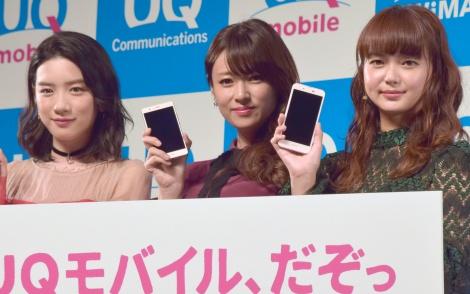 (左から)永野芽郁、深田恭子、多部未華子 (C)ORICON NewS inc.