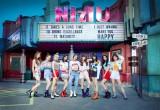 日本人9人組グローバル・ガールズグループ・NiziU(左から)AYAKA、RIO、MAYUKA、RIO、MAKO、MIIHI、NINA、MAYA、RIMA