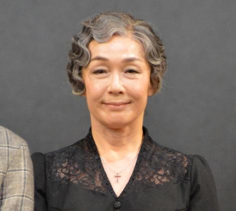 舞台『ゲルニカ』初日前会見に登壇したキムラ緑子 (C)ORICON NewS inc.