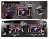 VR MODEでの視聴イメージ