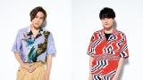 Kis-My-Ft2の(左から)千賀健永、二階堂高嗣