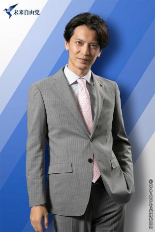 刈安健司(窪寺昭)(C)ハンサムセンキョ管理委員会