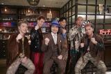DOBERMAN INFINITY「ガッチだぜ!!」のMVにトータス松本が特別出演(前列左から)KAZUKI、SWAY (後列左から)P-CHO、GS、KUBO-C