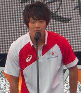 「世界水泳ロシア・カザン2015」競泳日本代表選手壮行会に出席した坂井聖人 (C)ORICON NewS inc.