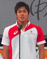 「世界水泳ロシア・カザン2015」競泳日本代表選手壮行会に出席した中村克 (C)ORICON NewS inc.