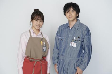 有村架純主演ドラマ『姉ちゃんの恋人』に出演が決まった林遣都(右)