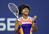現地時間9月10日、全米オープンテニス女子シングルス準決勝で勝利し、決勝進出を決めた大坂なおみ選手 (写真提供:WOWOW)