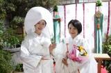 小芝風花の白無垢&miwaの巫女姿