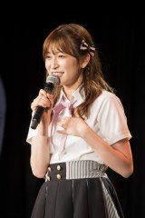 10月24日に大阪城ホールで卒業コンサートを行うことが決まったNMB48の吉田朱里(C)NMB48