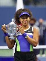 全米オープンテニス女子シングルスで2年ぶり2度目の優勝を果たした大坂なおみ選手 (写真提供:WOWOW)