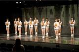 NMB48劇場200日ぶりの有観客公演でお披露目された7期生11人(C)NMB48