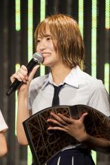 NMB48キャプテンの小嶋花梨(C)NMB48