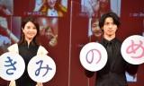 横浜流星(右)の落ち着きぶりに驚いたことを明かした吉高由里子(左)(C)ORICON NewS inc.