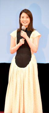 映画『きみの瞳(め)が問いかけている』の完成報告イベントに登壇した吉高由里子 (C)ORICON NewS inc.