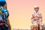 伊藤健太郎ふんする「赤鬼」と中川ふんする「青鬼」の甘酸っぱい青春を描いたコントシリーズ「赤と青の春」で「白鬼」を演じる白石聖
