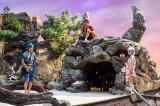 総合『LIFE!〜人生に捧げるコント〜』9月25日放送。伊藤健太郎ふんする「赤鬼」と中川ふんする「青鬼」の甘酸っぱい青春を描いたコントシリーズ「赤と青の春」で「白鬼」を演じる白石聖(C)NHK