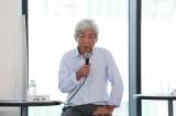 『CiP協議会竹芝オープニングイベント』に出席した大崎洋会長
