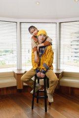 ミチ&よしあき姉弟=GAPキャンペーン「心地よさから、はじめよう。Comfortable together」
