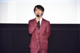 VRショートムービー『宇宙でいちばんやさしい時間』の特別披露上映会イベントに出席した醍醐虎汰朗(C)KDDI