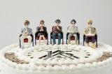 AAA15周年記念ケーキ