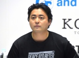 『MIRRORLIAR FILMS』プロジェクト発表記者会見に出席した山田孝之 (C)ORICON NewS inc.