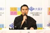 大阪文化芸術フェス「歌舞伎特別公演」記者発表会に出席した市川右團次