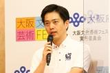 大阪文化芸術フェス「歌舞伎特別公演」記者発表会に出席した吉村洋文大阪府知事