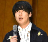予定時間をオーバーしながらトークを続けた村本大輔 (C)ORICON NewS inc.