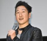 映画『わたしは分断を許さない』の完成披露試写会に登壇した堀潤氏 (C)ORICON NewS inc.