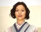 映画『みをつくし料理帖』完成披露試写会イベントに登場した若村麻由美 (C)ORICON NewS inc.